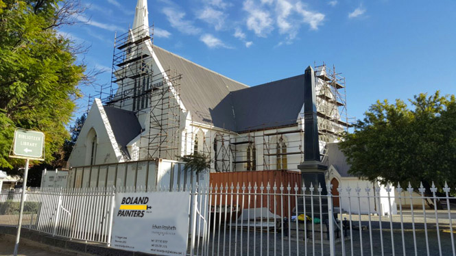 boland painters and restorers the chosen contractors for the restoration of old church building